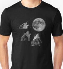 Three wolf one moon Unisex T-Shirt