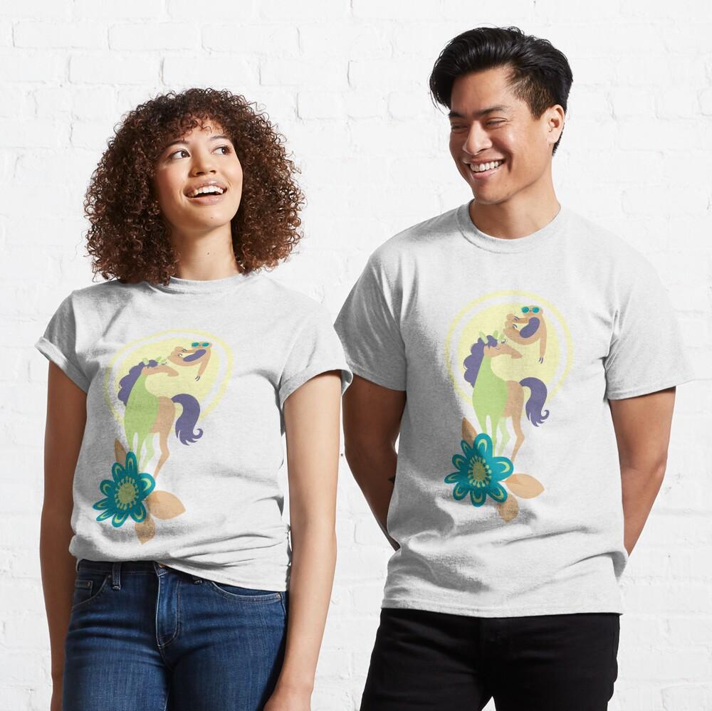 Take it slow - Purple & Lime - v1 Classic T-Shirt
