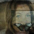Silence...(Behind blue eyes) von MarieG