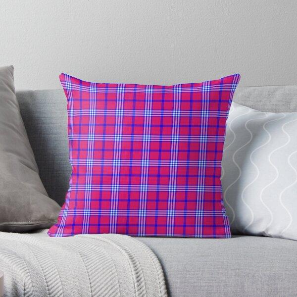 Maasai shúkà pattern II Throw Pillow