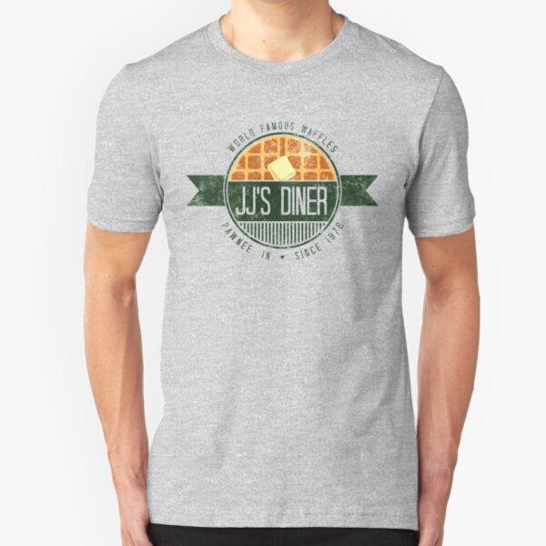 jj's diner - color Slim Fit T-Shirt
