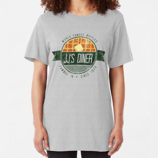 jj's diner - farbe Slim Fit T-Shirt