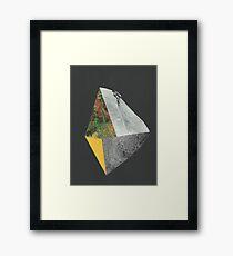 Beyond the Edge 2 Framed Print