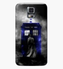 The Doctor and his blue box Case/Skin for Samsung Galaxy