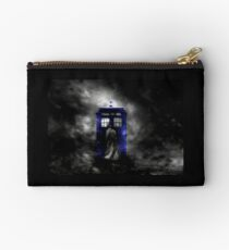 The Doctor and his blue box Studio Pouch