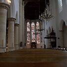 Old Church, Delft by Henk van Kampen