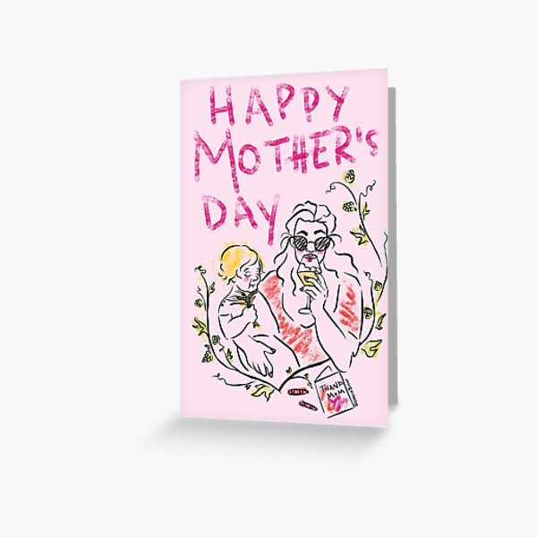 A Beery Happy Mother's Day Greeting Card