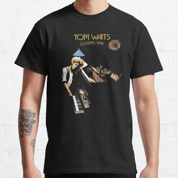 Tom Waits Closing Time Album Shirt, Sticker, Poster, Mask Classic T-Shirt