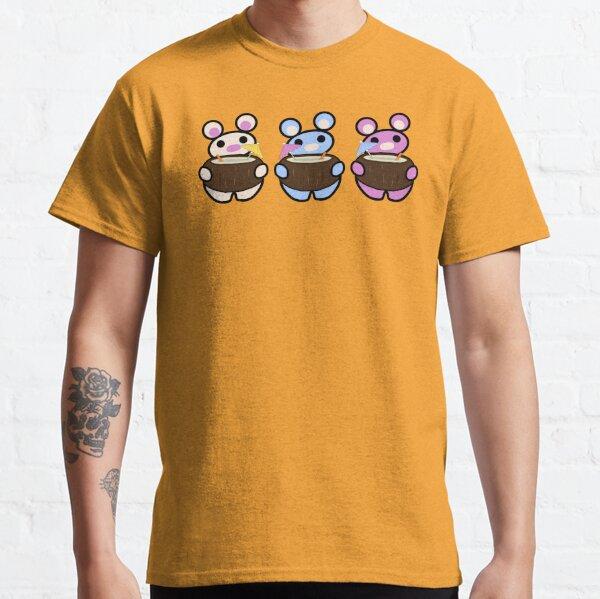 Three Chibis (Coconuts) Classic T-Shirt