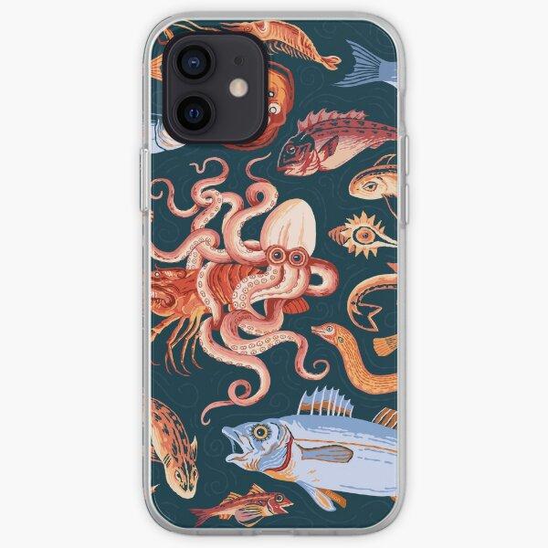 Pompeii Marine Mosaic  iPhone Soft Case