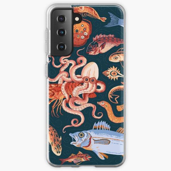 Pompeii Marine Mosaic  Samsung Galaxy Soft Case