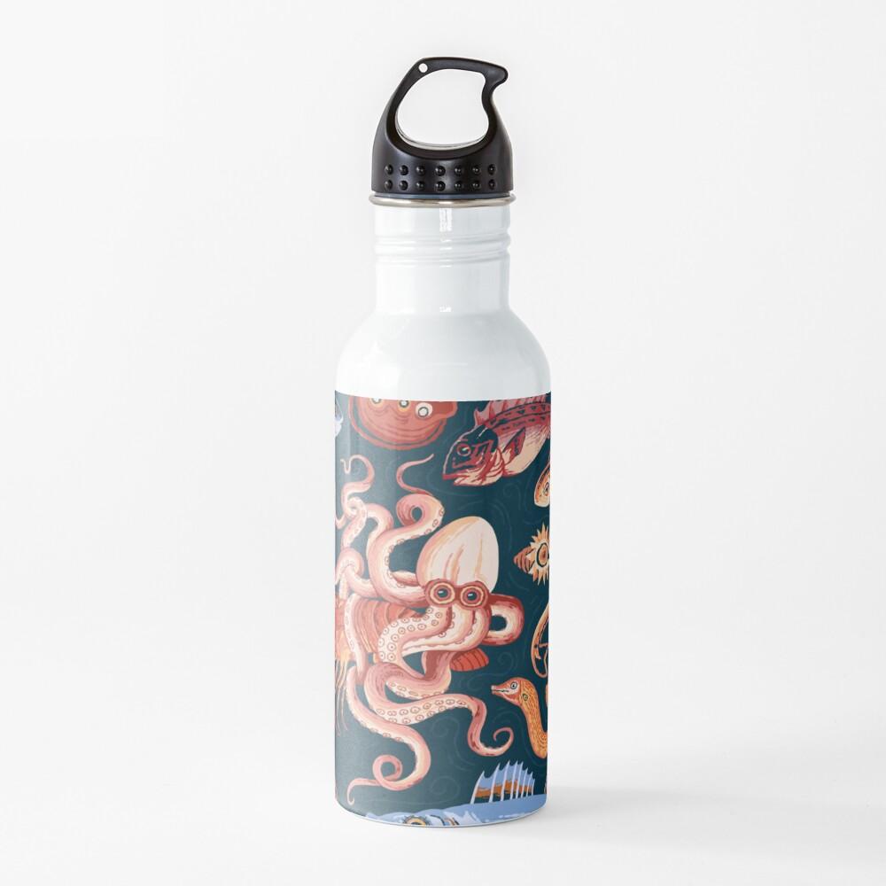 Pompeii Marine Mosaic  Water Bottle