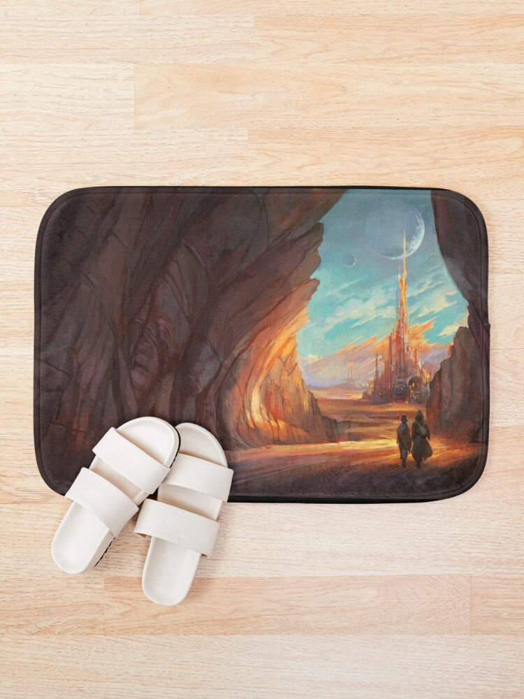 Alternate view of Child of Wrath Cover Bath Mat