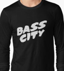 Bass City (White) Long Sleeve T-Shirt