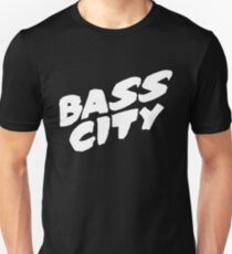Bass City (White) Unisex T-Shirt