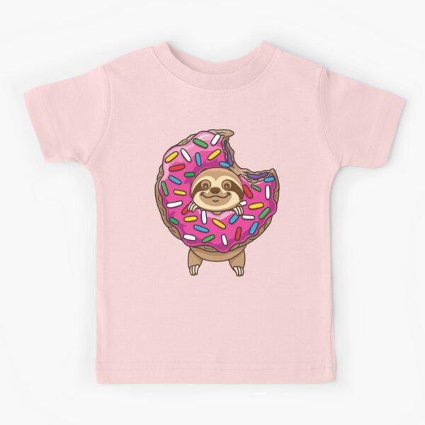 Cute Sloth Kids T-Shirt