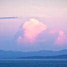 Pink clouds in Island sunrise by doug hunwick