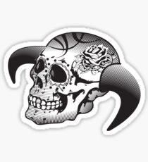 Vector Skull Sticker