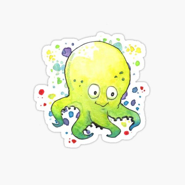 Octobaby Brother Bobby Sticker