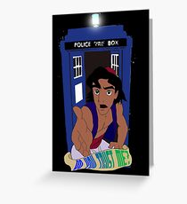Doctor Who Aladdin mashup - Do you trust me? Greeting Card