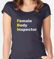 Limitless - Female Body Inspector Women's Fitted Scoop T-Shirt
