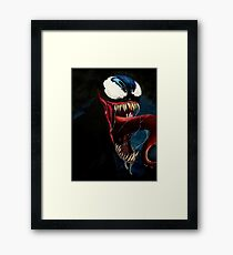 The Venom! Framed Print