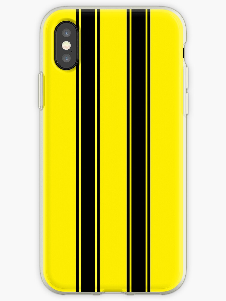online store c21b2 6baec 'Transformers Bumblebee Paint Job Cover' iPhone Case by LocoSonicka