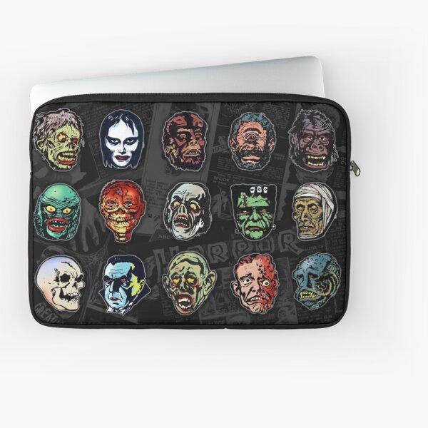 Horror Movie Monster Masks (color) Laptop Sleeve