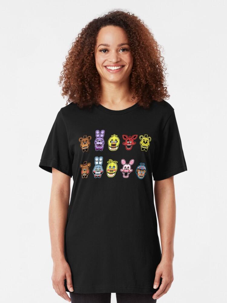 Alternate view of Animatronic MADNESS Slim Fit T-Shirt
