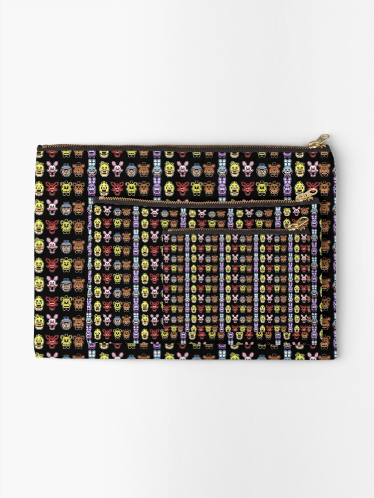 Alternate view of Animatronic MADNESS Zipper Pouch