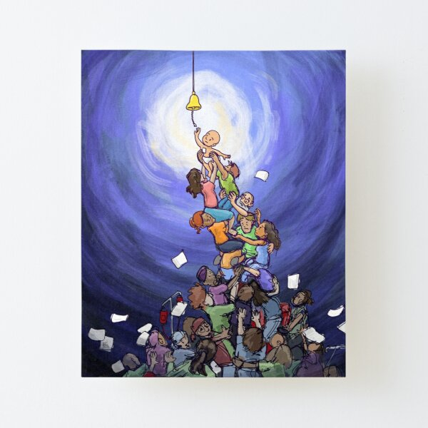 The Remission Bell Army  Canvas Mounted Print