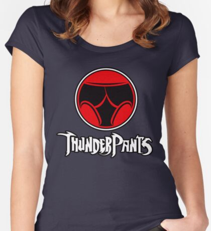 ThunderPants Women's Fitted Scoop T-Shirt