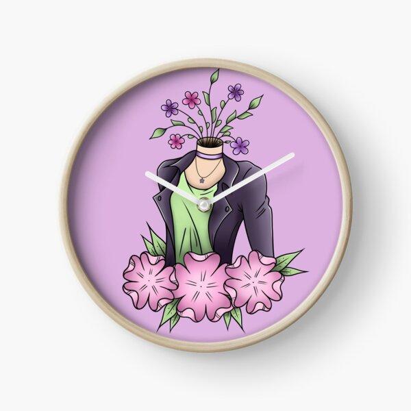 Flower Head Clock