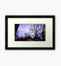Storm 003 Framed Print