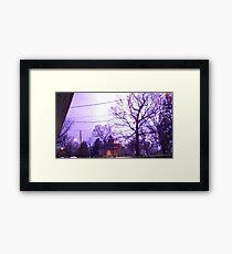 Storm 005 Framed Print