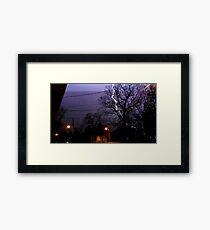 Storm 006 Framed Print