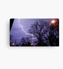 Storm 010 Canvas Print