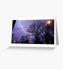 Storm 010 Greeting Card