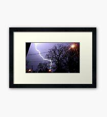 Storm 011 Framed Print
