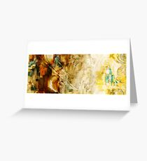abstract 30 Greeting Card