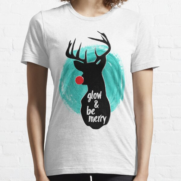 Glow and Be Merry Essential T-Shirt