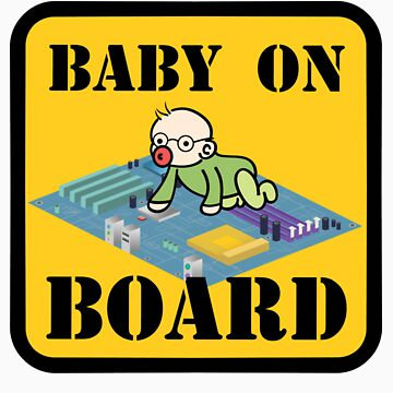 Baby on (Mother) Board by Wetasaurus