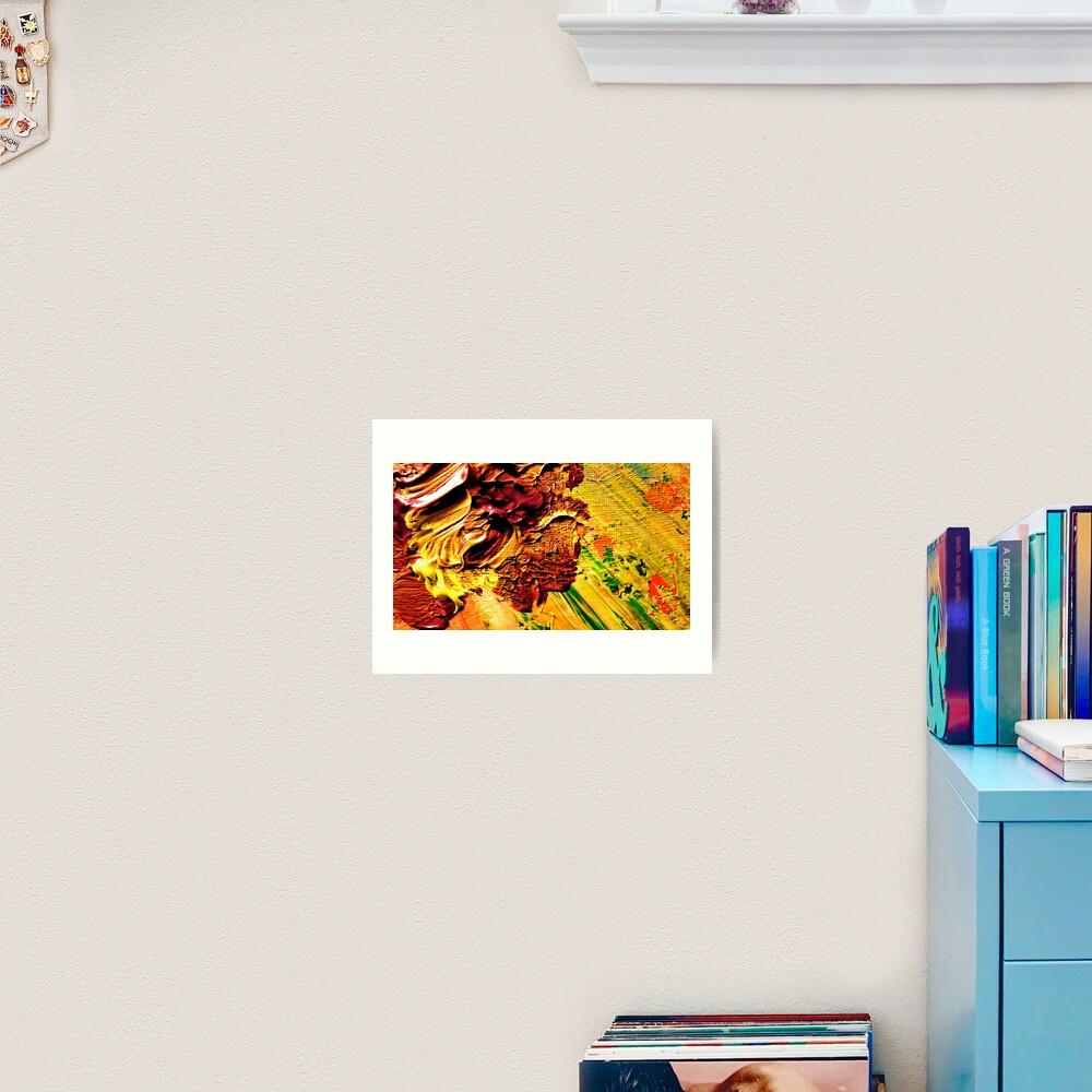 Lush Irises from Kelley's Jardin Art Print