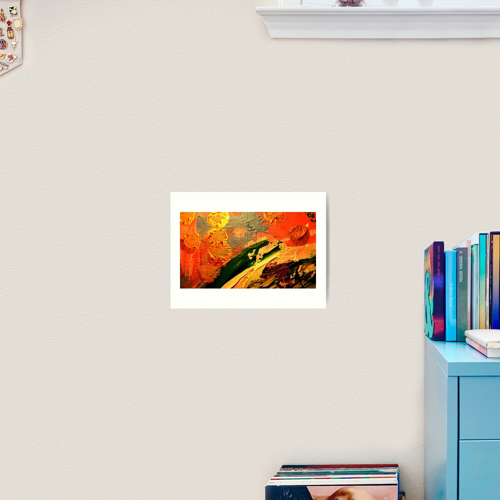 Crying Creature from Kelley's Jardin Art Print