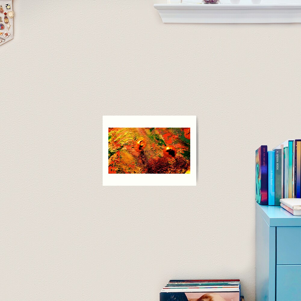 Colorful Sands from Kelley's Jardin Art Print