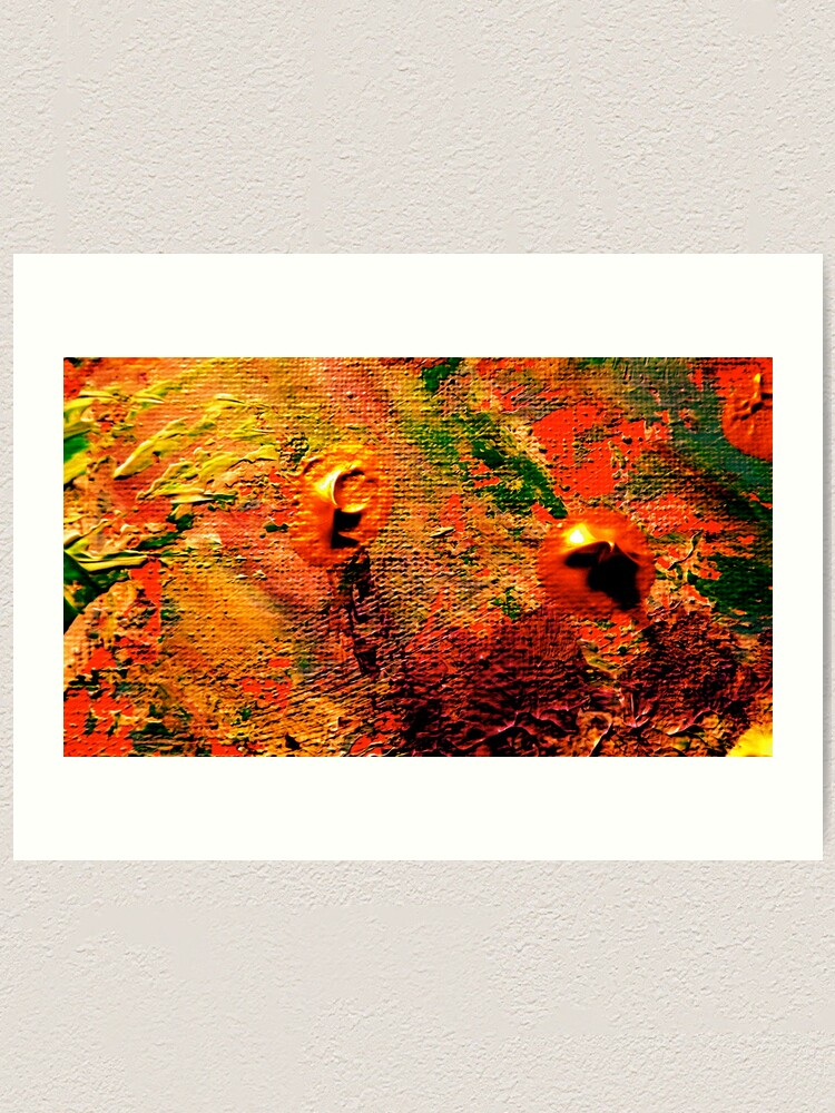 Alternate view of Colorful Sands from Kelley's Jardin Art Print