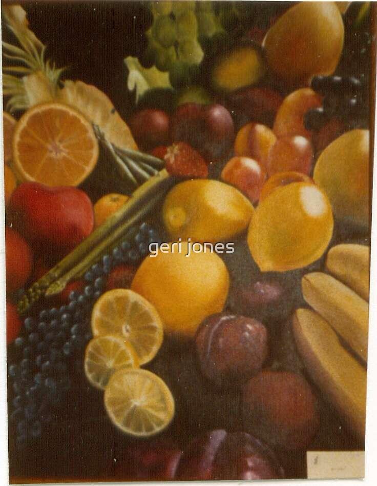 Fruits Galore by geri jones