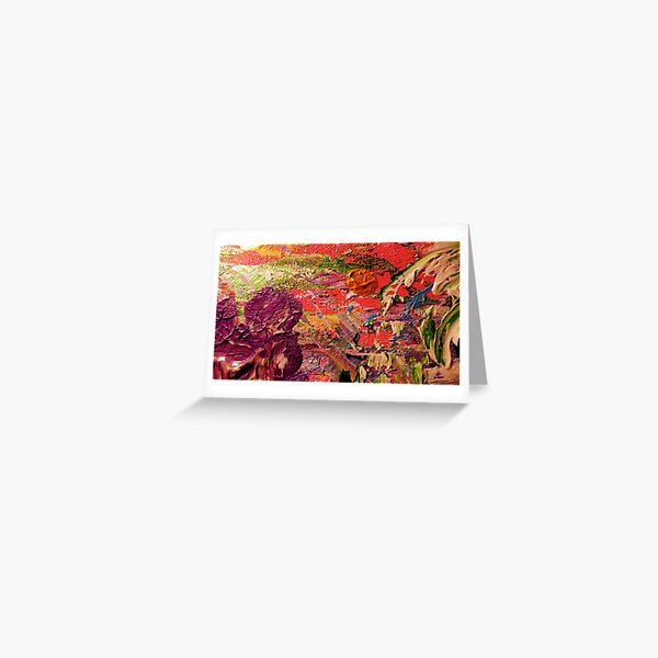 Purple Iris from Kelley's Jardin Greeting Card