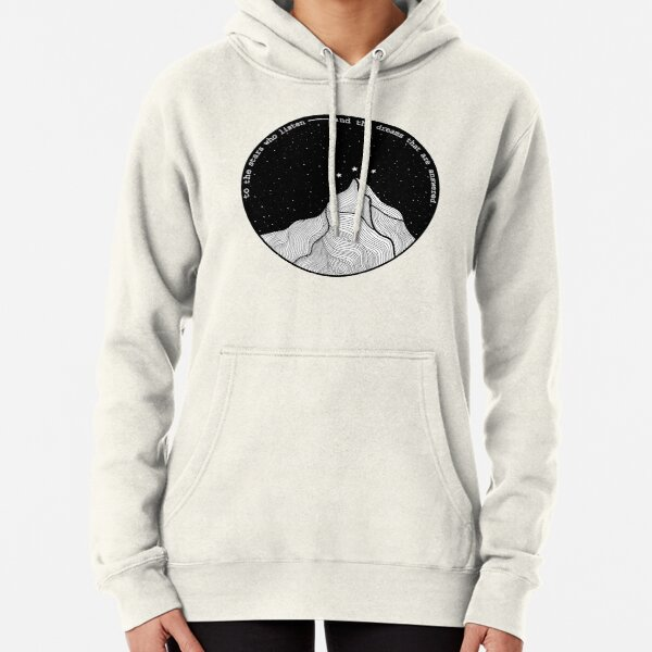 to the stars who listen Pullover Hoodie