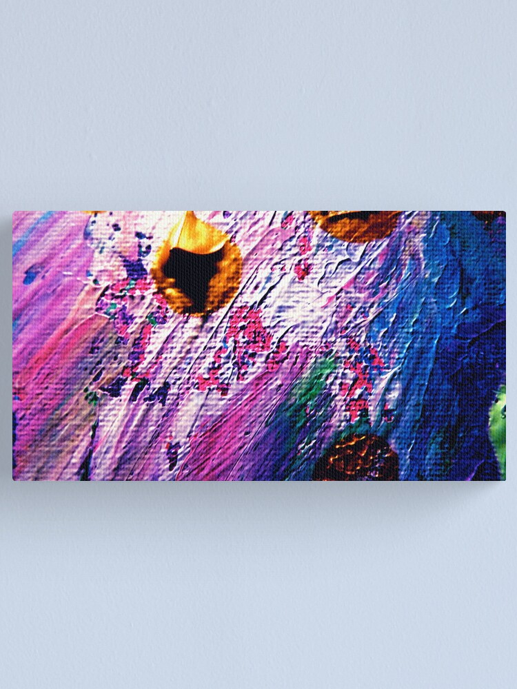 Alternate view of Sliding Waters Canvas Print